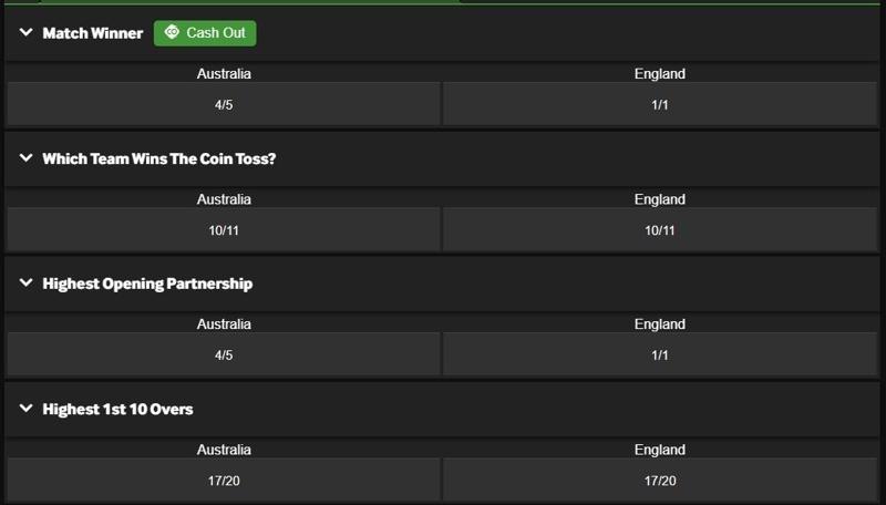 IPL bets online