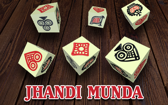Jhandi Munda Indian dice game