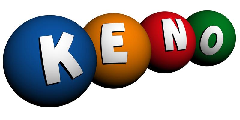 Keno lottery games
