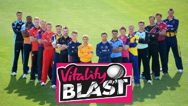 bets available in Vitality T20 Blast